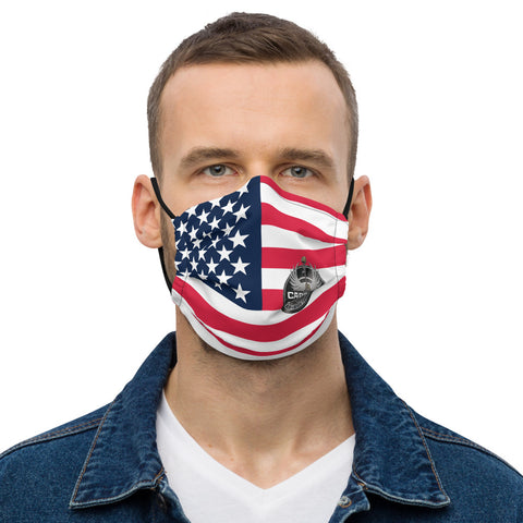 Carry On US Flag Face mask