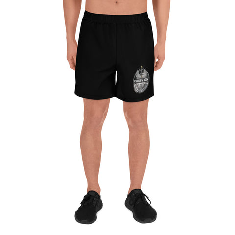 Carry On Men's Athletic Long Shorts
