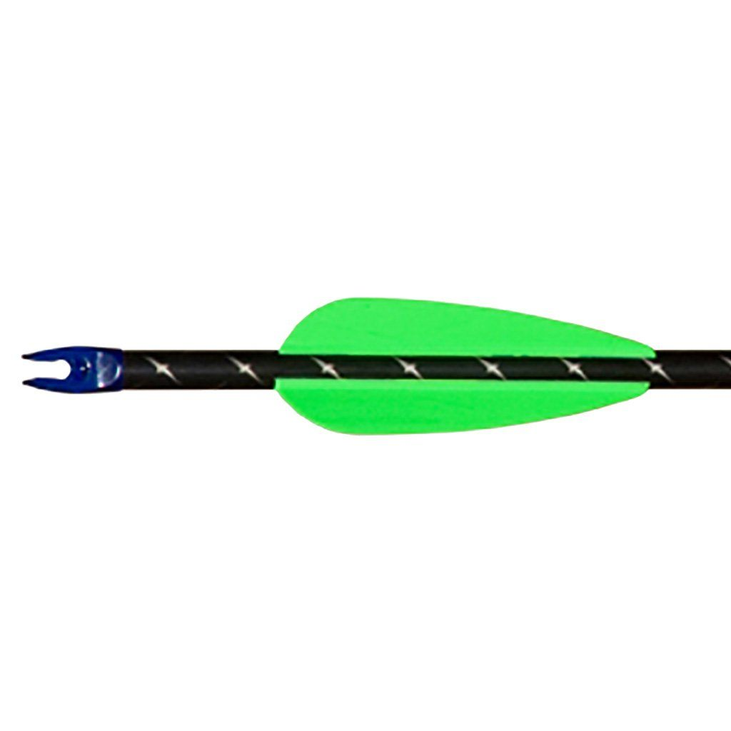 Aae Elite Plastifletch Vanes Neon Green 2.375 In. 100 Pk. Vanes Aae