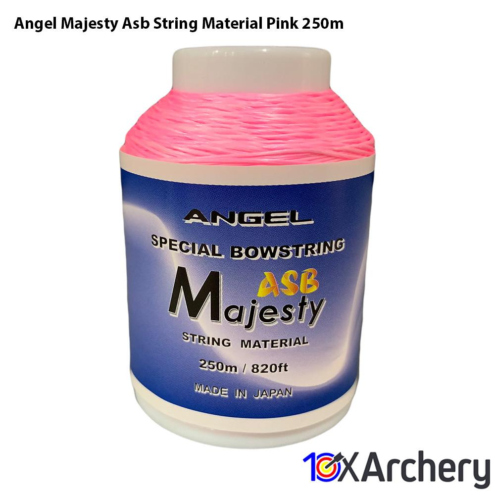 Angel Majesty Asb String Material Pink 250m String Material Angel Archery