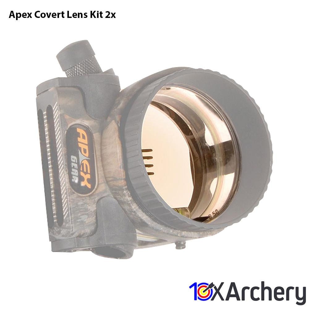 Apex Covert Lens Kit 2x - 10xArchery