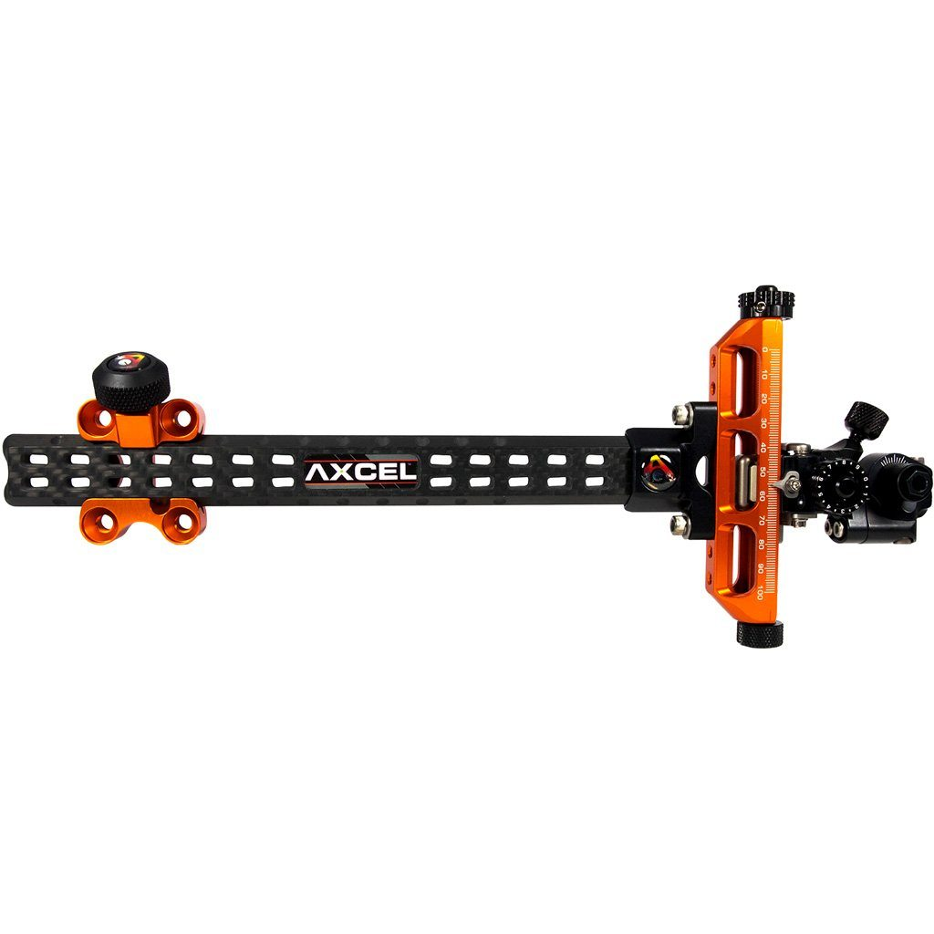 Axcel Achieve Compound Xl Sight Orange/ Black 9 In. Rh Target Sights and Accessories Axcel