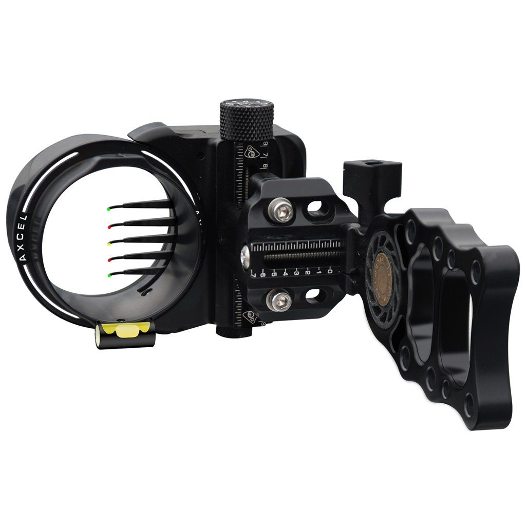 Axcel Armortech Hd Sight Black 7 Pin .010 Rh/lh - 10xArchery