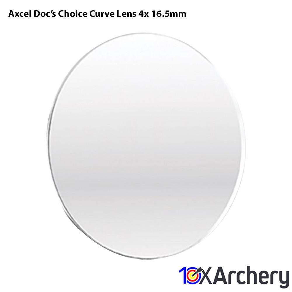 Axcel Doc's Choice Curve Lens 4x 16.5mm - Sight Accessories
