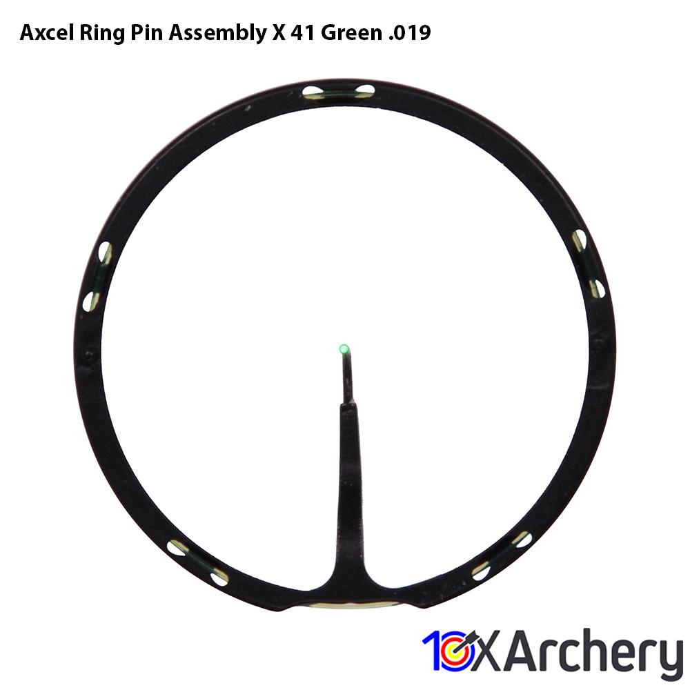 Axcel Ring Pin Assembly X-41 Green .019 - 10xArchery