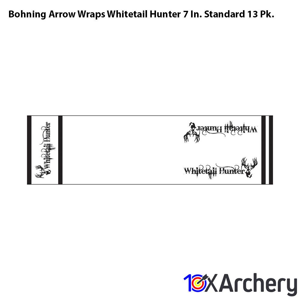 Bohning Arrow Wraps Whitetail Hunter 7 In. Standard 13 Pk. - 10xArchery
