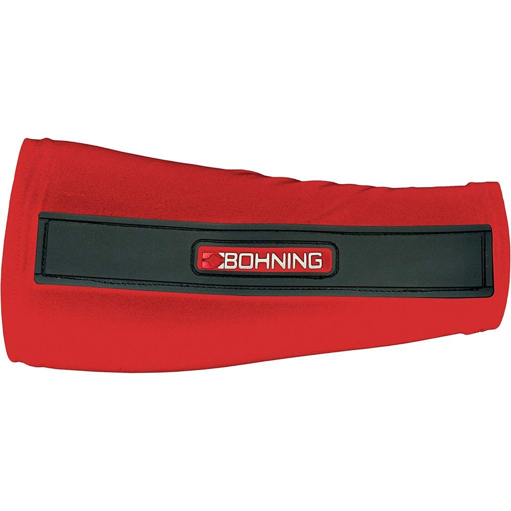 Bohning Slip-on Armguard Red Medium - 10xArchery