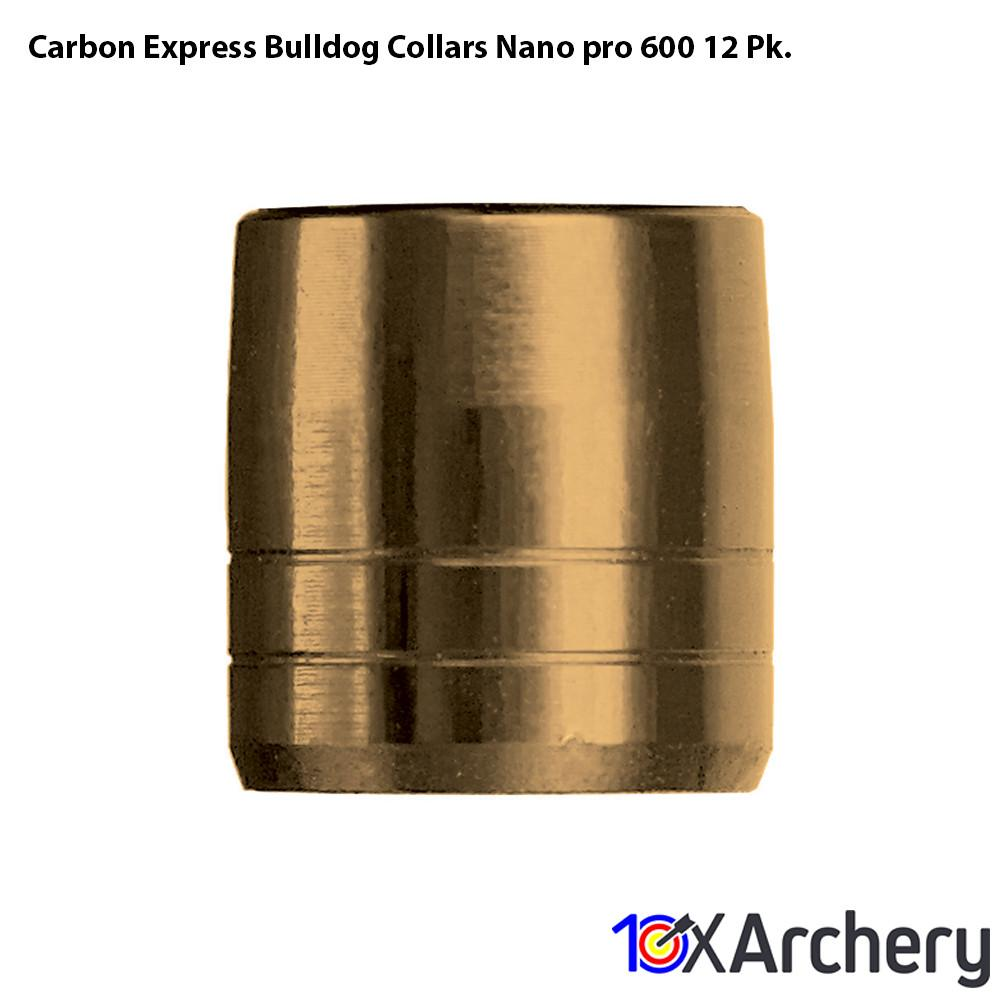 Carbon Express Bulldog Collars Nano-pro 600 12 Pk. - Archery