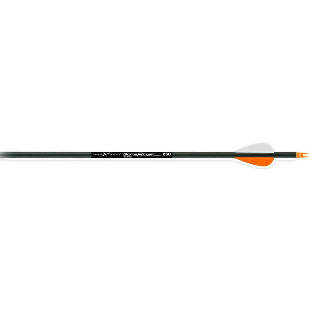 Carbon Express Game Slayer Arrows 350 2 In. Vanes 3 Pk. - 10xArchery