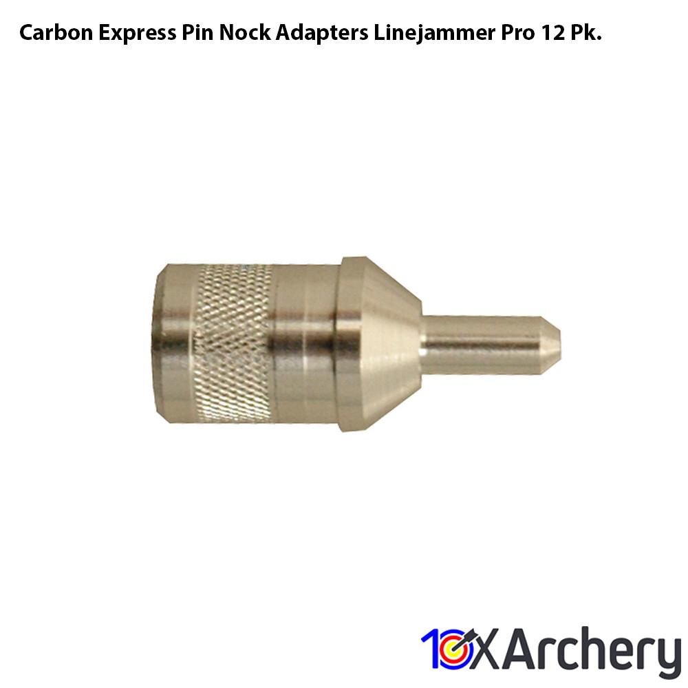 Carbon Express Pin Nock Adapters Linejammer Pro 12 Pk. - 10xArchery