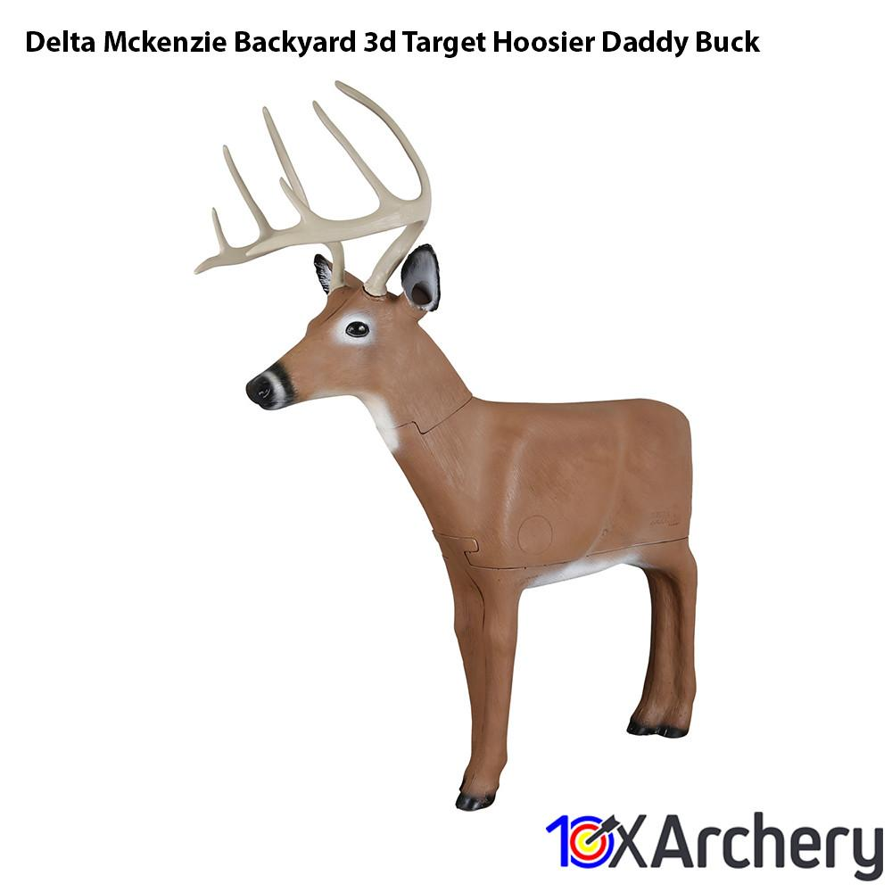 Delta Mckenzie Backyard 3d Target Hoosier Daddy Buck - Archery