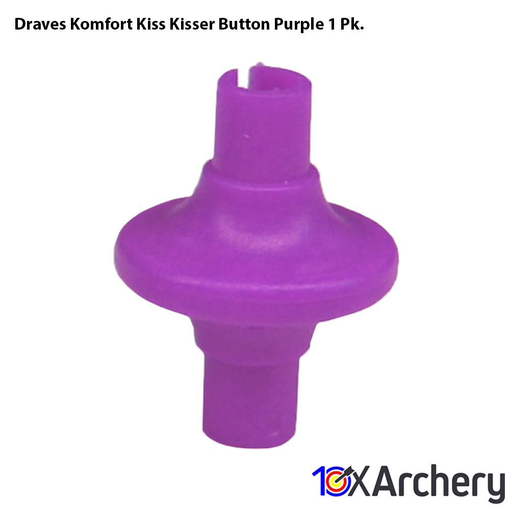 Draves Komfort Kiss Kisser Button Purple 1 Pk. - Archery
