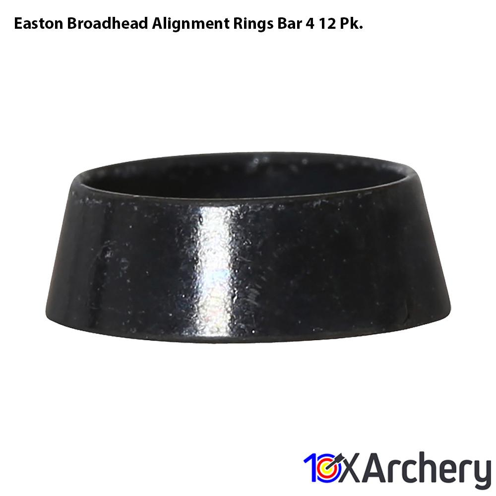 Easton Broadhead Alignment Rings Bar 4 12 Pk. - 10xArchery
