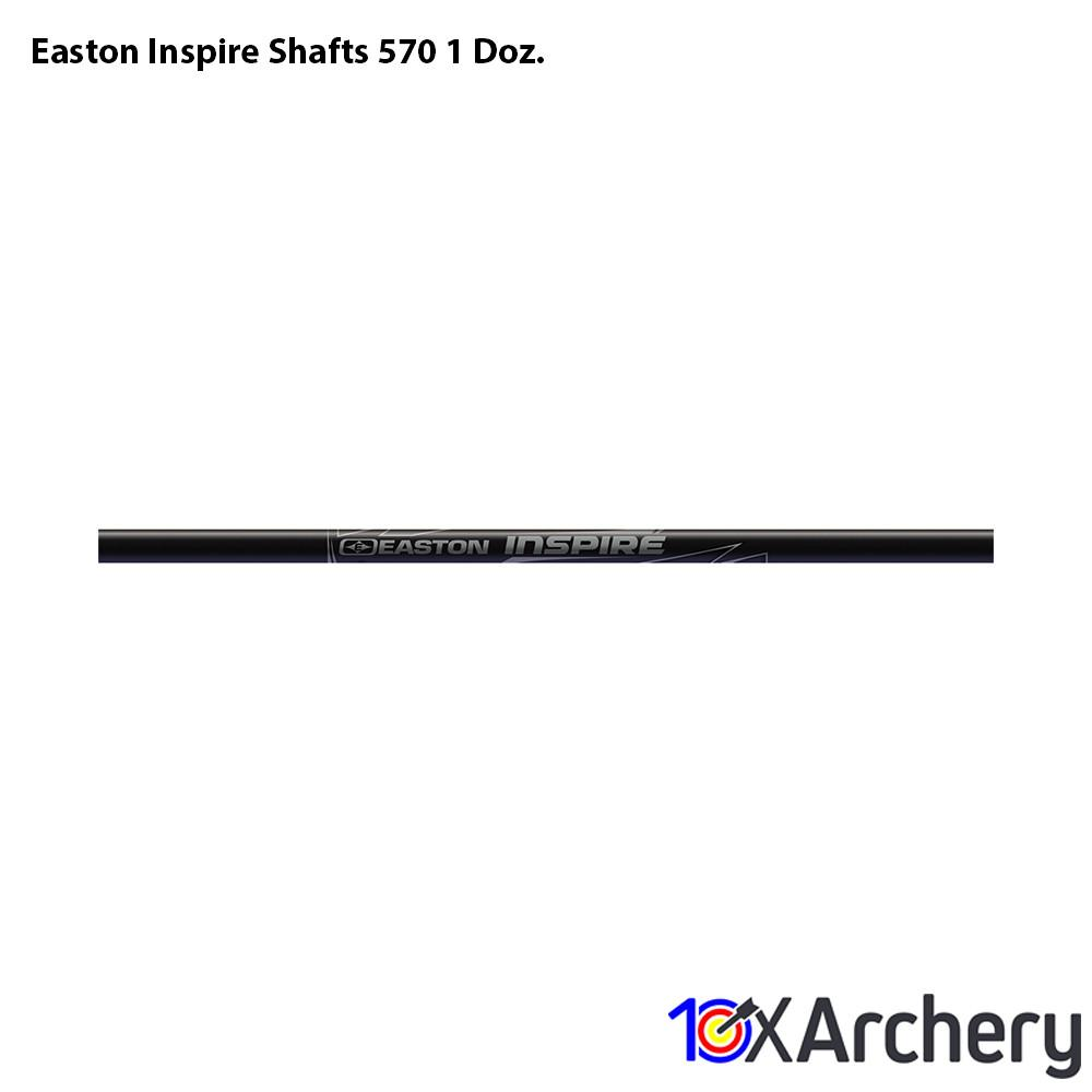Easton Inspire Shafts 570 1 Doz. - 10xArchery