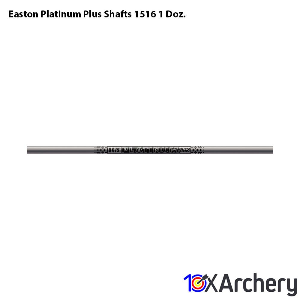 Easton Platinum Plus Shafts 1516 1 Doz. - 10xArchery