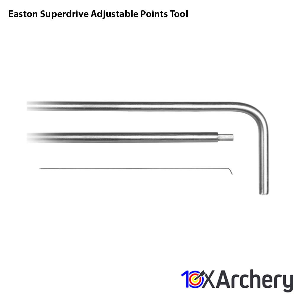 Easton Superdrive Adjustable Points Tool Points and Accessories Easton