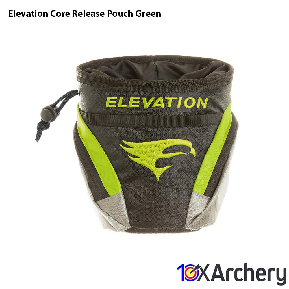 Elevation Core Release Pouch Green Archery Elevation