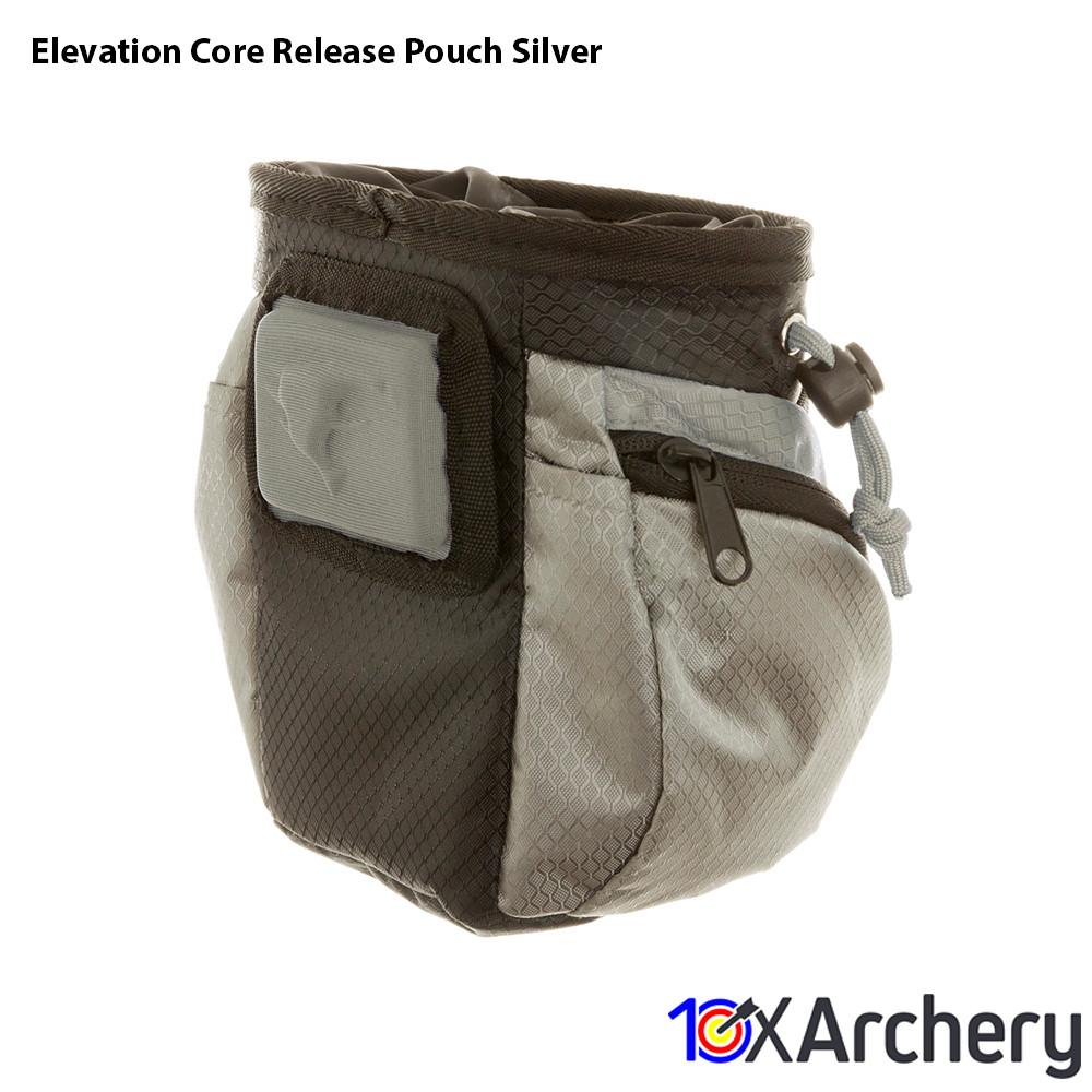 Elevation Core Release Pouch Silver - Archery