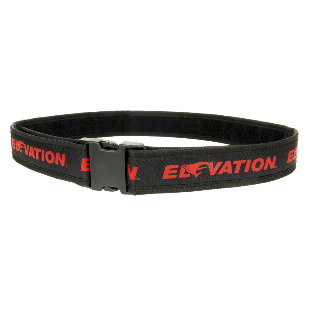 Elevation Pro Shooters Belt Red 28-46 In. - Target Quivers and Belts
