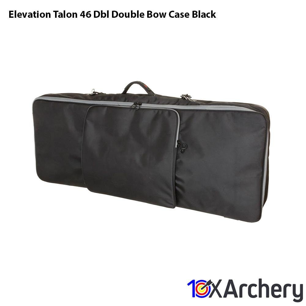 Elevation Talon 46 Dbl Double Bow Case Black - Archery