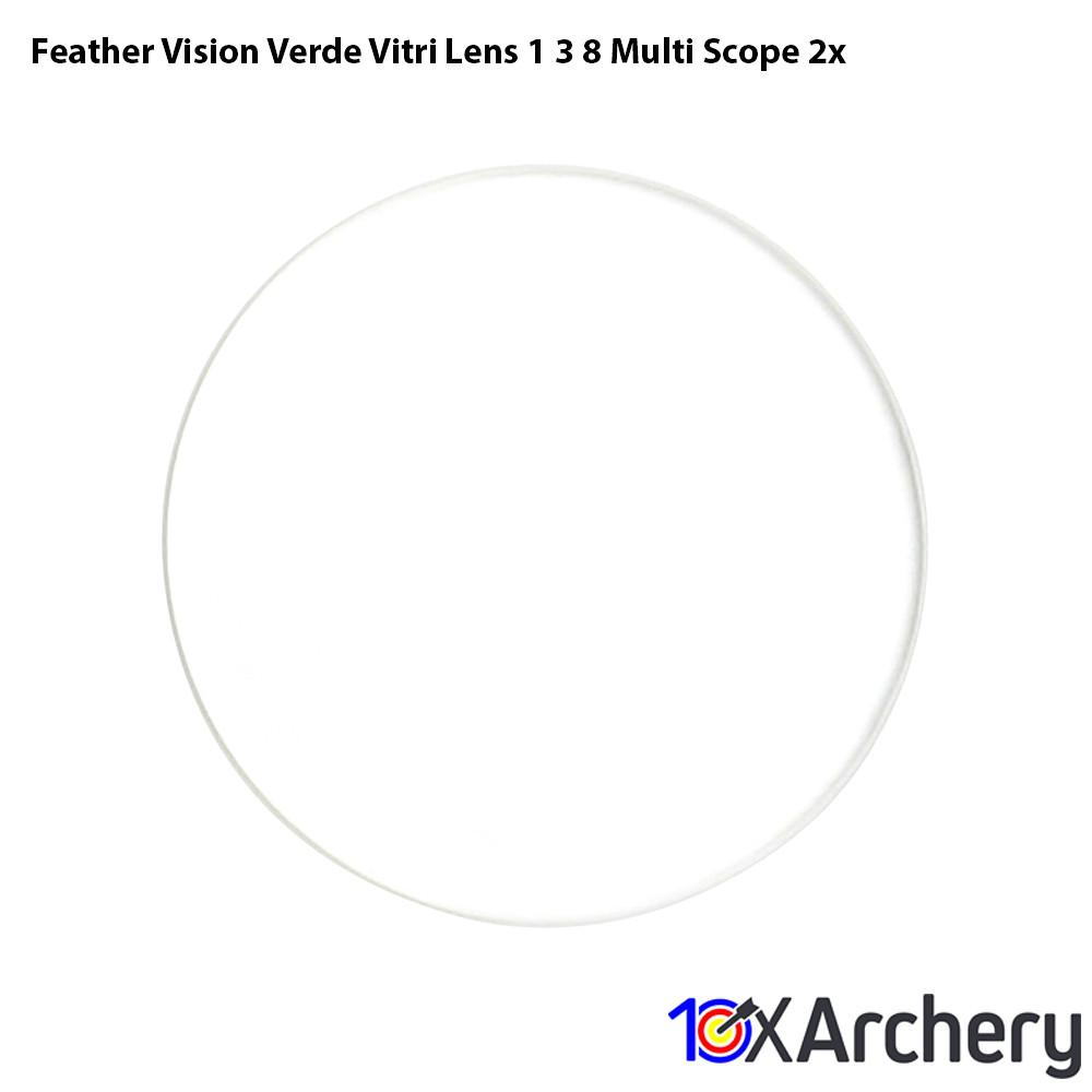 Feather Vision Verde Vitri Lens 1 3/8 Multi Scope 2x Sight Accessories Feather Vision