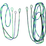 Firststring Genesis String And Cable Set Flo Green/ Blue - Compound String and Cable Kits