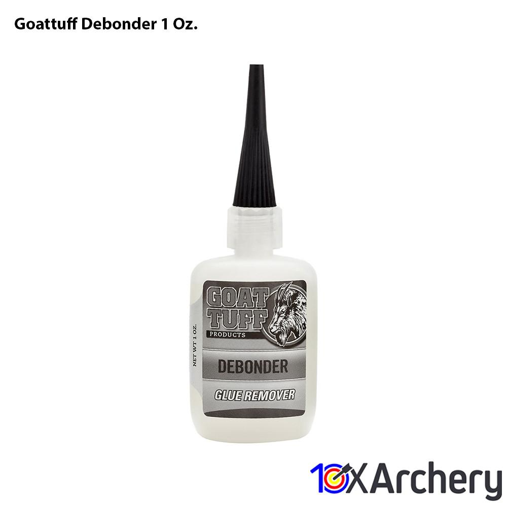 Goattuff Debonder 1 Oz. - Glues and Arrow Cleaners