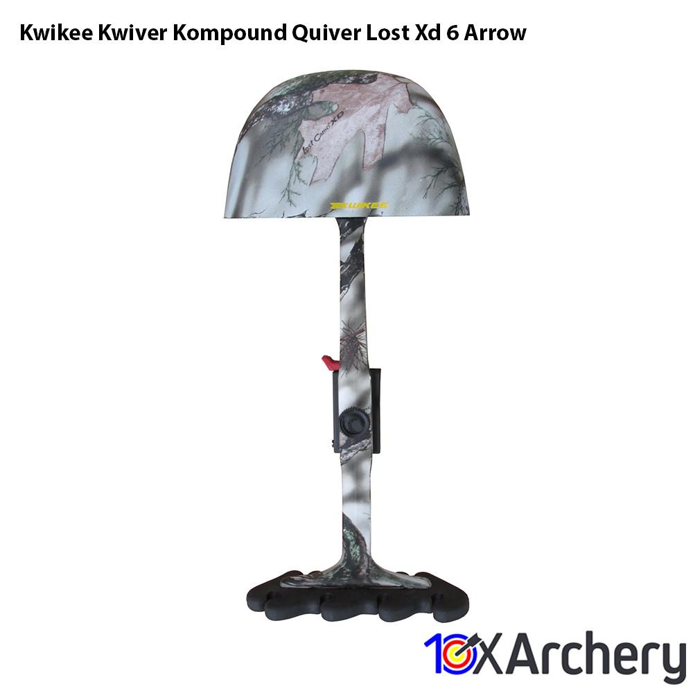 Kwikee Kwiver Kompound Quiver Lost Xd 6 Arrow - Archery