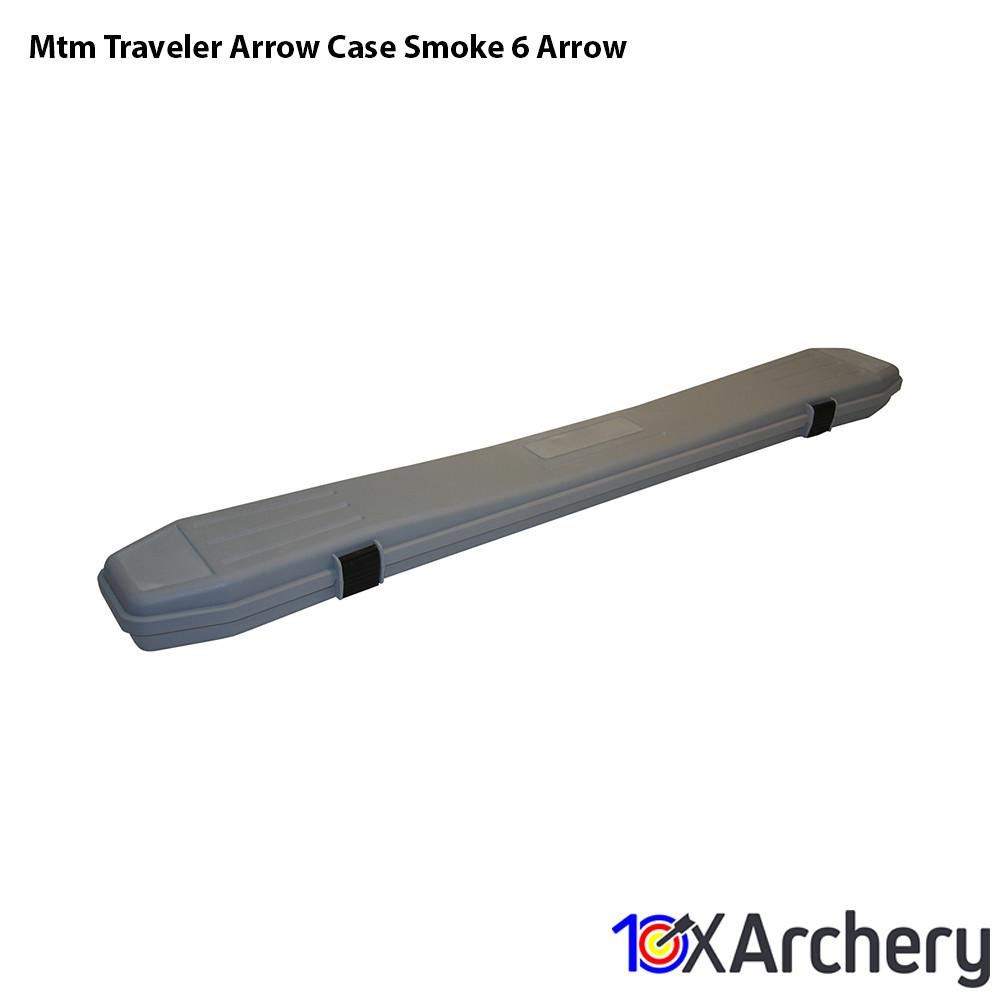 Mtm Traveler Arrow Case Smoke 6 Arrow - 10xArchery