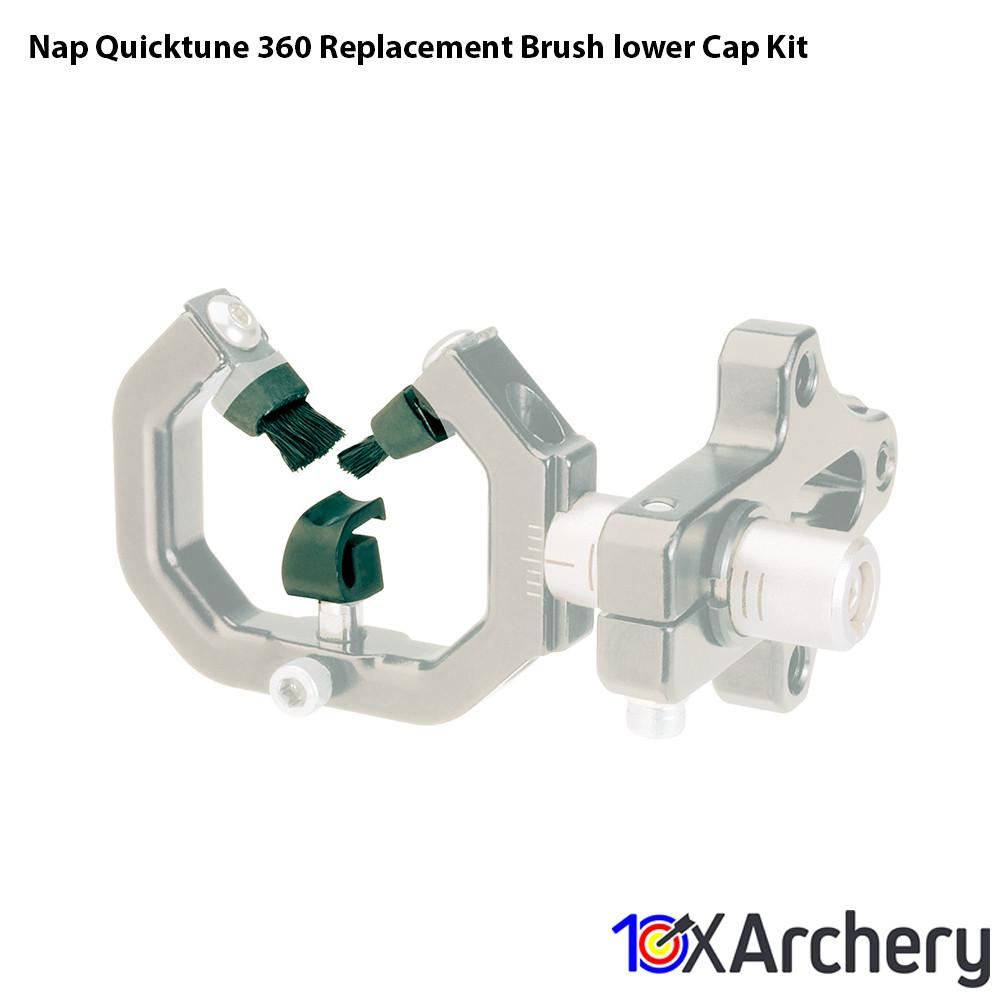 Nap Quicktune 360 Replacement Brush/lower Cap Kit - Archery