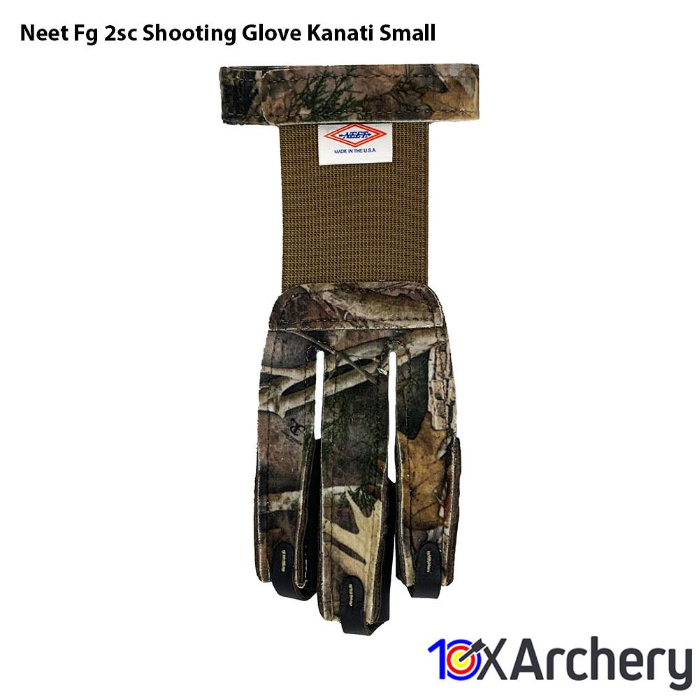 Neet Fg-2sc Shooting Glove Kanati Small - 10xArchery