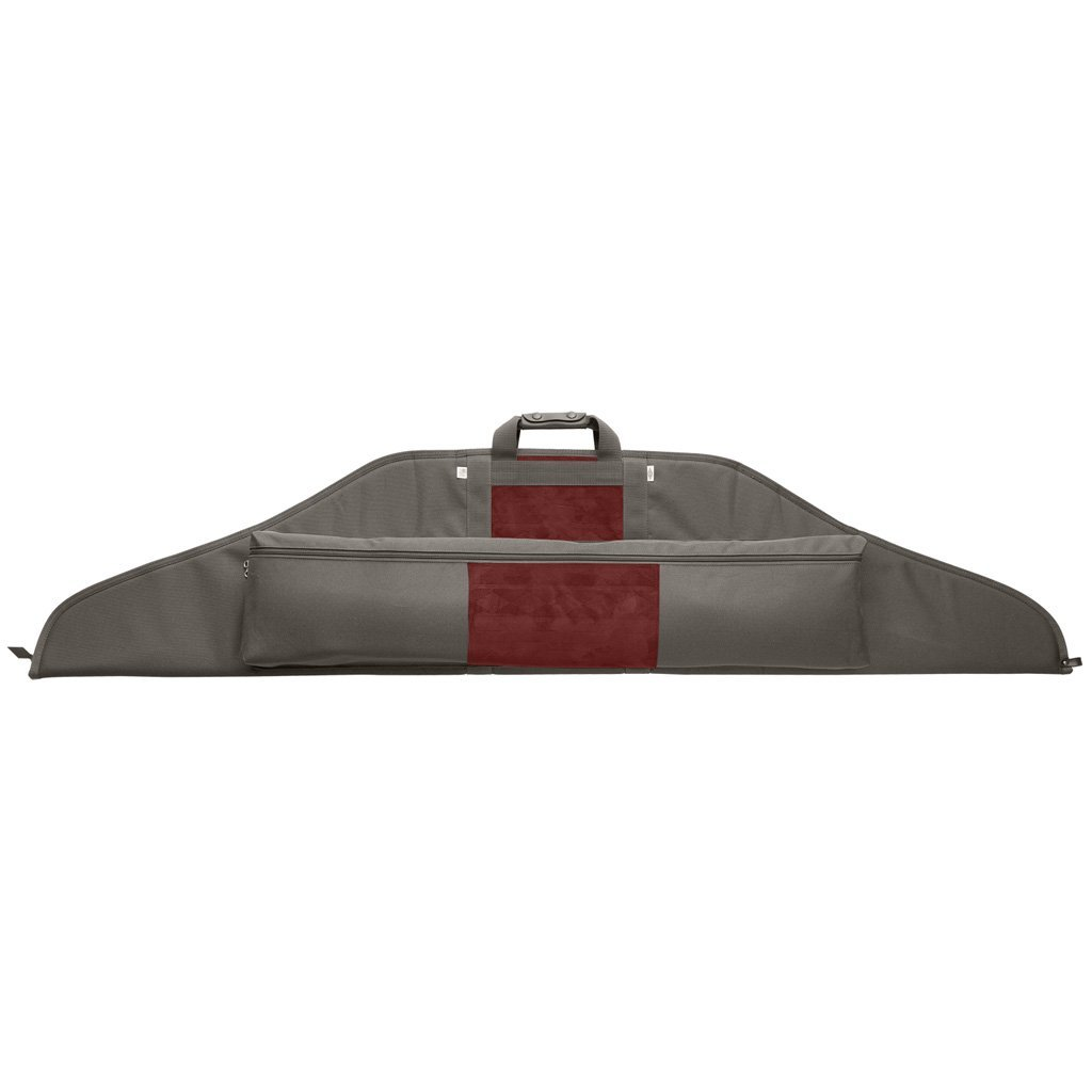 Neet Nk-rc Recurve Bow Case Grey/burgandy 62 In. - Archery