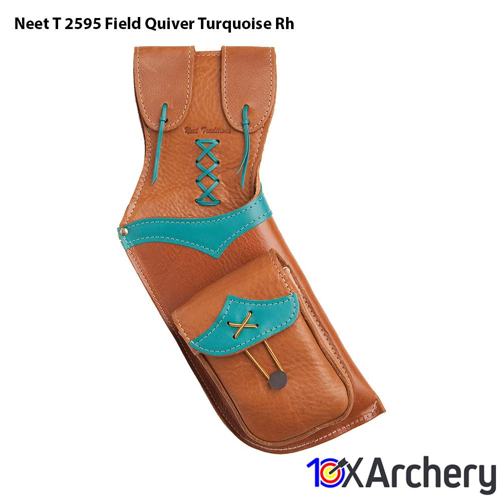 Neet T-2595 Field Quiver Turquoise Rh - Archery
