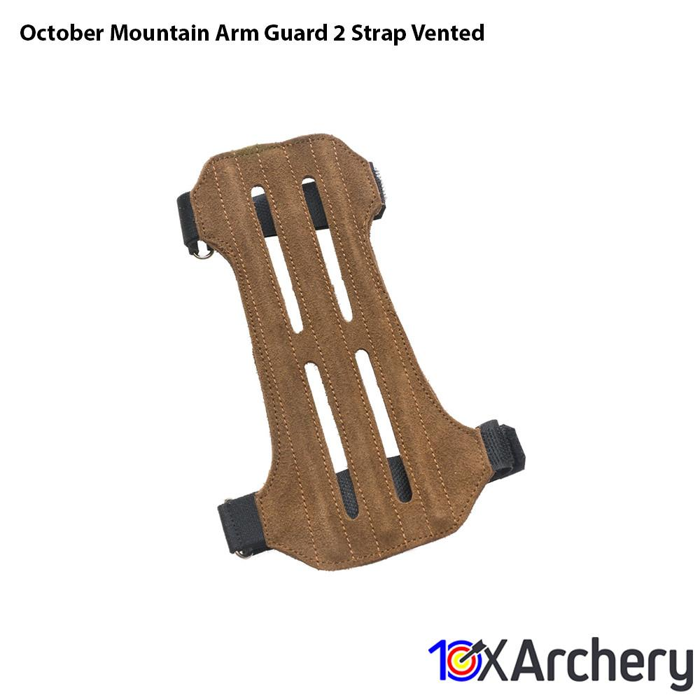 October Mountain Arm Guard 2 Strap Vented - 10xArchery