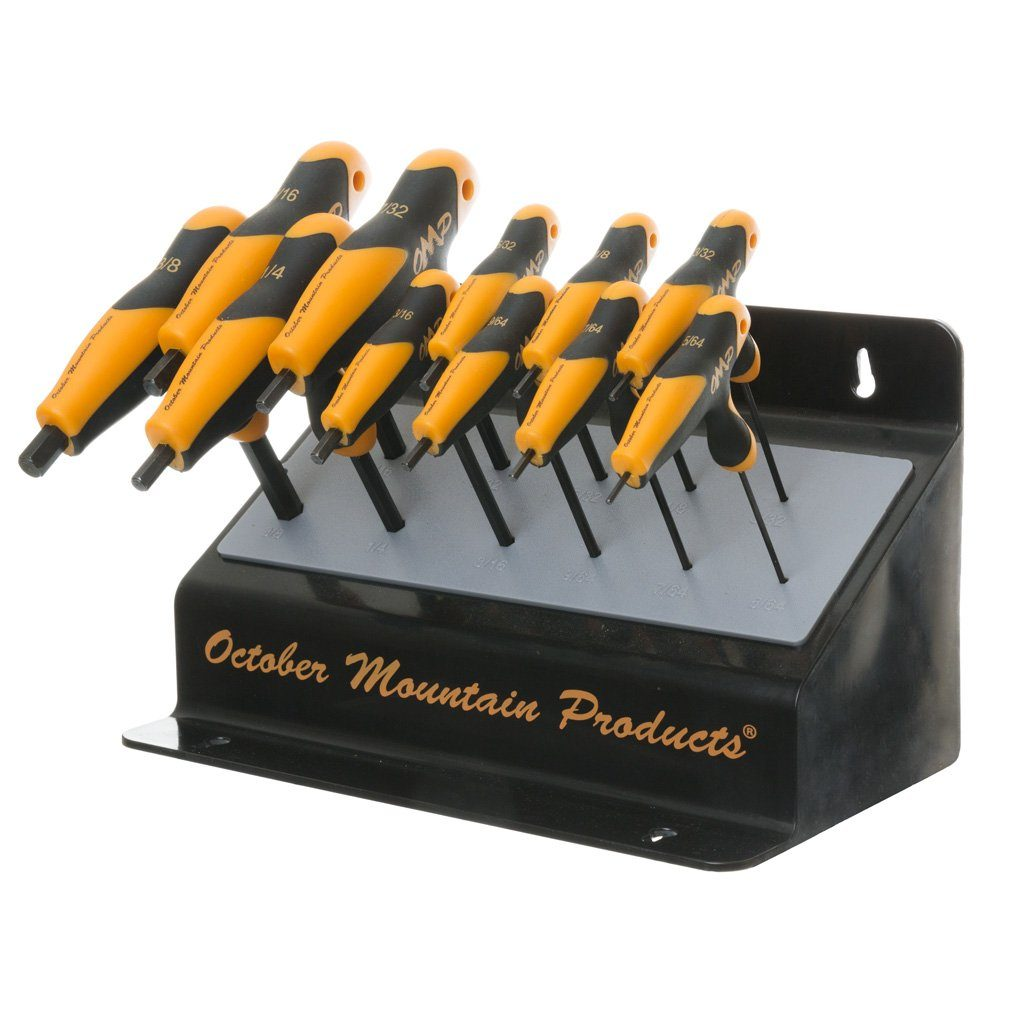 October Mountain Pro Shop Hex Wrench Set Bench Hand Tools October Mountain