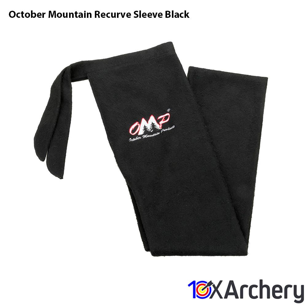 October Mountain Recurve Sleeve Black - Archery