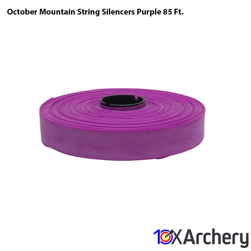 October Mountain String Silencers Purple 85 Ft. - String Silencers