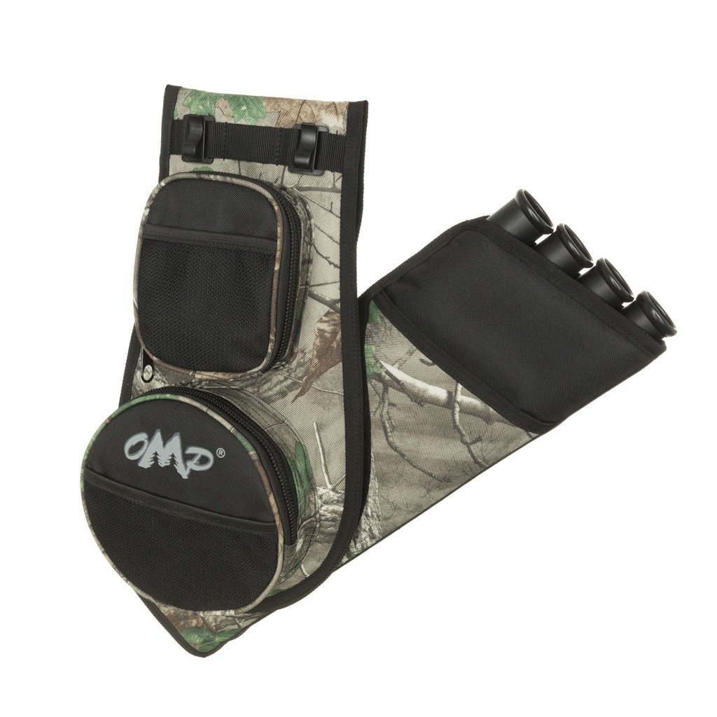 October Mountain Switch Quiver Black/realtree Xtra Rh/lh - Archery