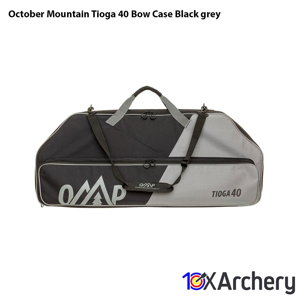 October Mountain Tioga 40 Bow Case Black/grey - 10xArchery