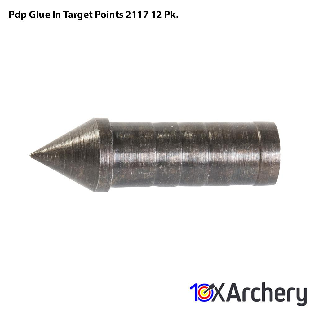 Pdp Glue In Target Points 2117 12 Pk. - 10xArchery