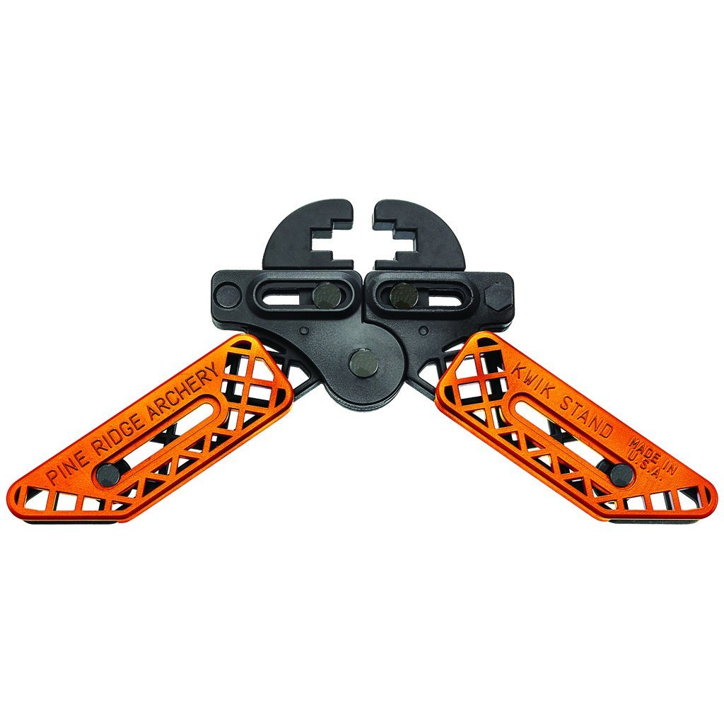 Pine Ridge Kwik Stand Bow Support Orange/black - Bow Holders and Range Acc.