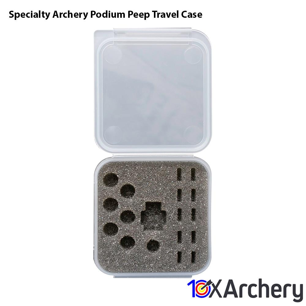 Specialty Archery Podium Peep Travel Case Archery Specialty Archery
