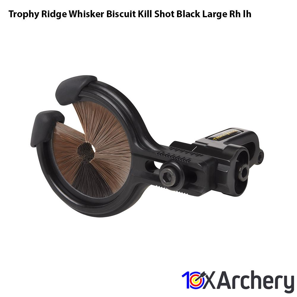 Trophy Ridge Whisker Biscuit Kill Shot Black Large Rh/lh - Archery