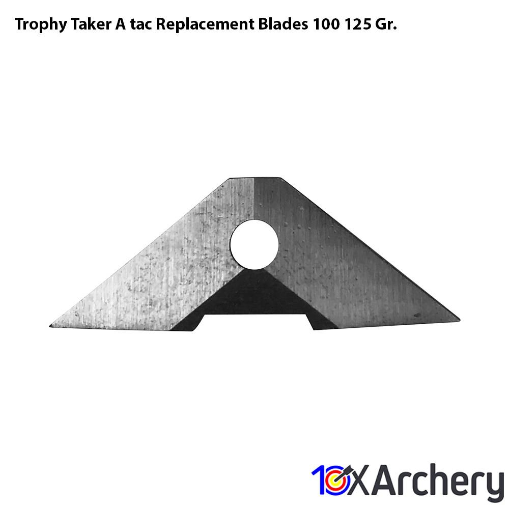 Trophy Taker A-tac Replacement Blades 100/125 Gr. - 10xArchery