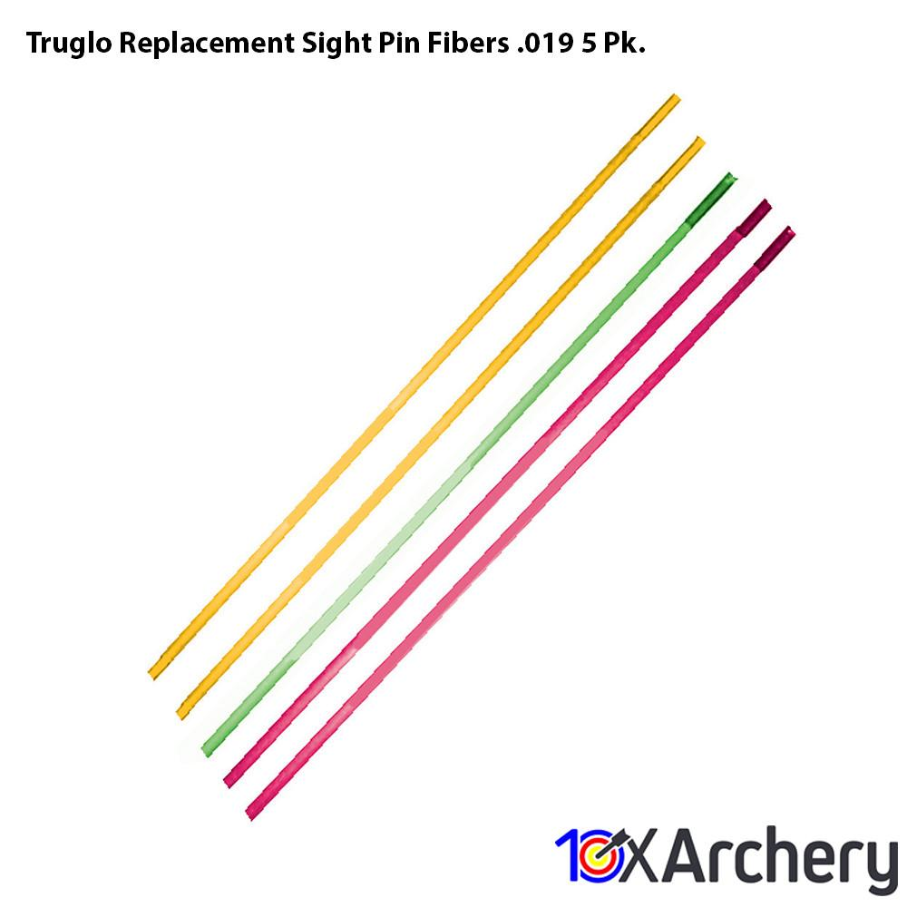 Truglo Replacement Sight Pin Fibers .019 5 Pk. - Sight Accessories