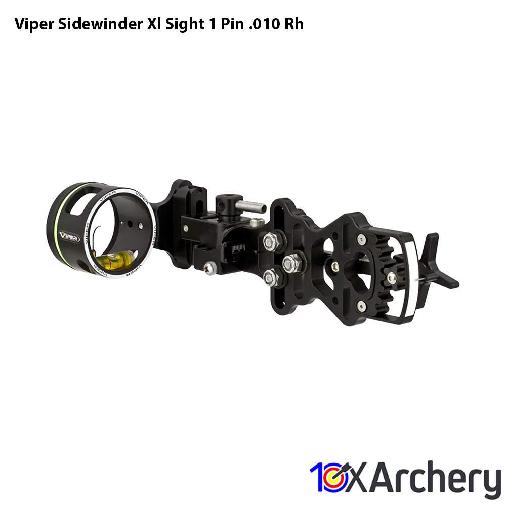 Viper Sidewinder Xl Sight 1 Pin .010 Rh - 10xArchery