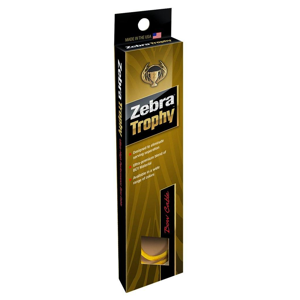 Zebra Hybrid Split Cable Tan/black 36 In. - Archery
