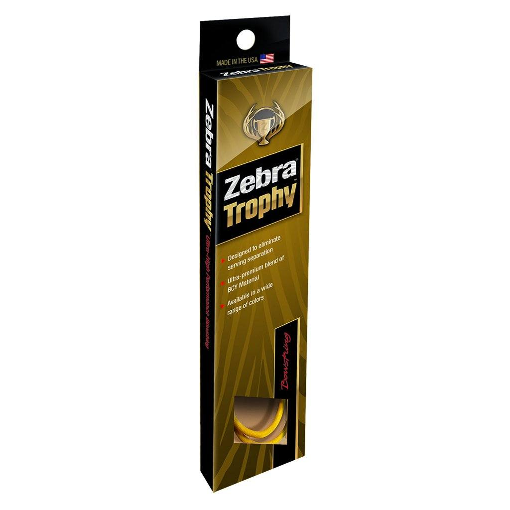 Zebra Hybrid String Tan/black 92 1/2 In. - Archery