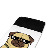 PUG LIFE  Breathable Calf Socks
