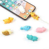 Usb Charger Cable Bite Protector for Iphone Android